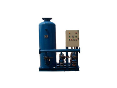 定压补水装置的高效率缘故