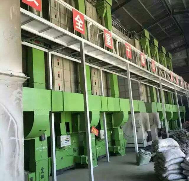 某工厂干燥机安装