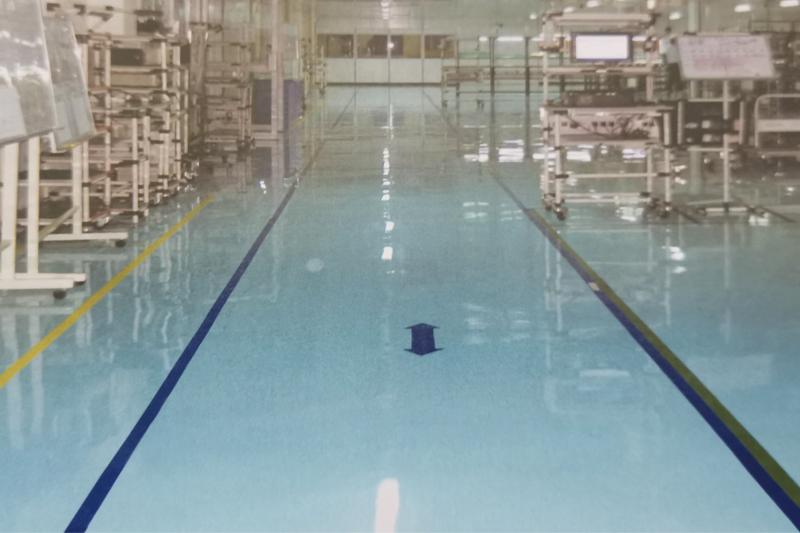 环氧树脂自流坪型防静电地坪