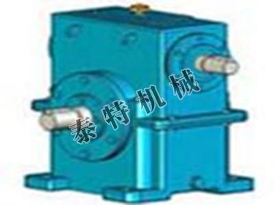 WS型圆柱蜗杆减速器