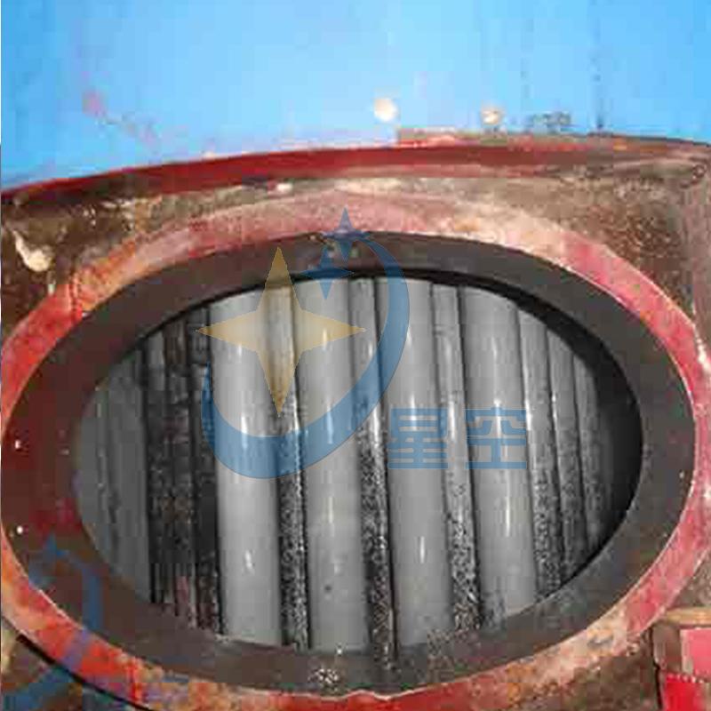 锅炉清洗施工现场