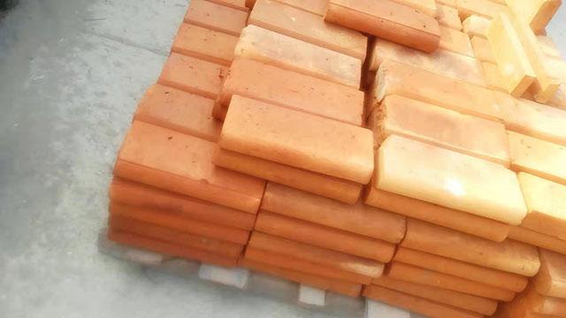 六面光红色精品面包砖