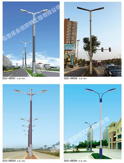 路灯杆安装的质量检验与试灯工艺流程