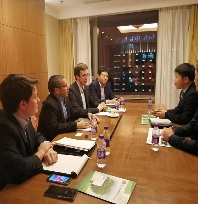 Yihe rare earth aluminum company visited the embassy in China