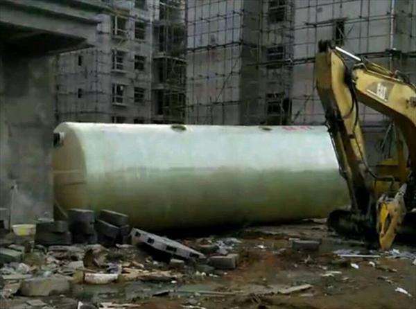 耐腐蚀玻璃钢化粪池工程案例