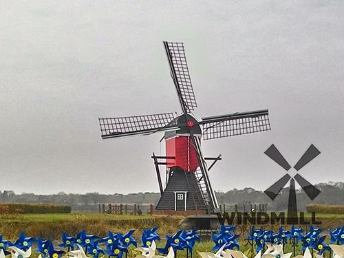 古典景观荷兰风车