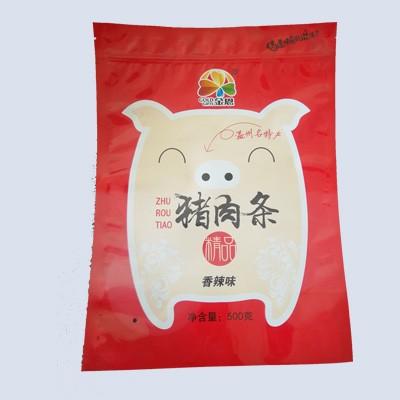 香辣猪肉条包装袋