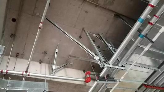 侧向抗震支架厂家告诉你抗震支吊架选购原则