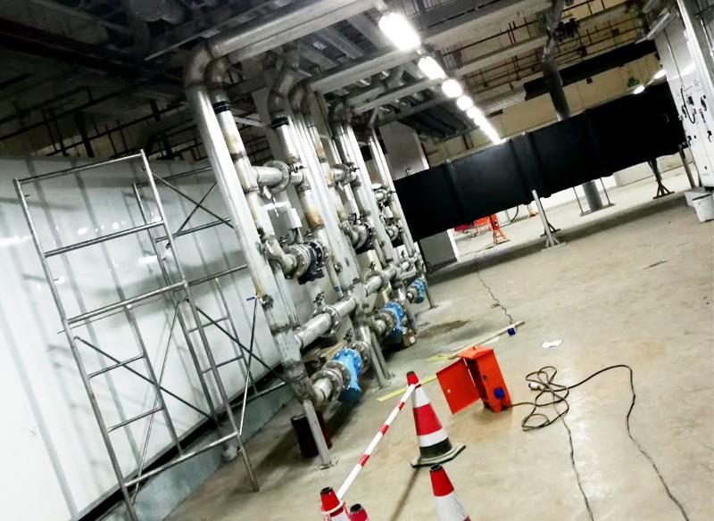 空调机房管道安装
