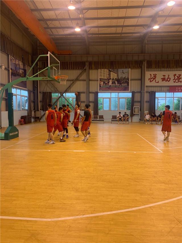 华消消防参加芜湖县男子篮球县级联赛
