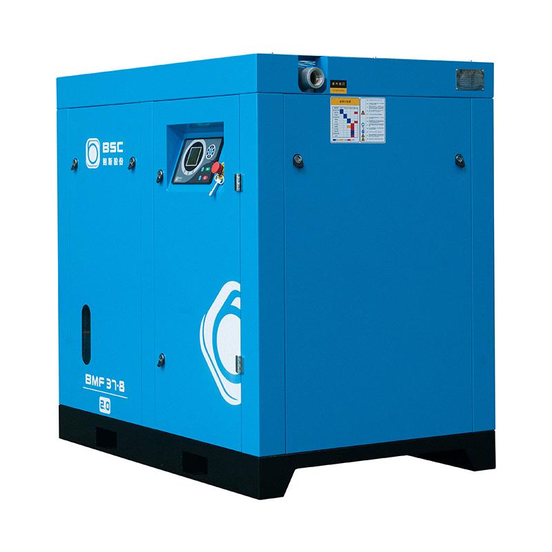 两级压缩空压机之压缩空气冷凝水危害