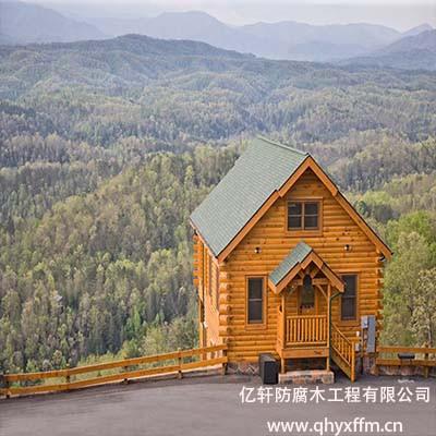 防腐木木屋设计
