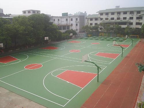 篮球馆铺设什么篮球馆地胶才能让消费者安全受到保障