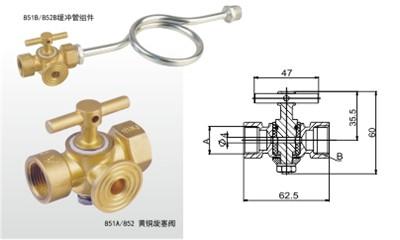 苏州埃美柯阀门-X14F-16T 黄铜旋塞阀