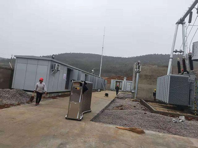 高压电输配工程施工案例
