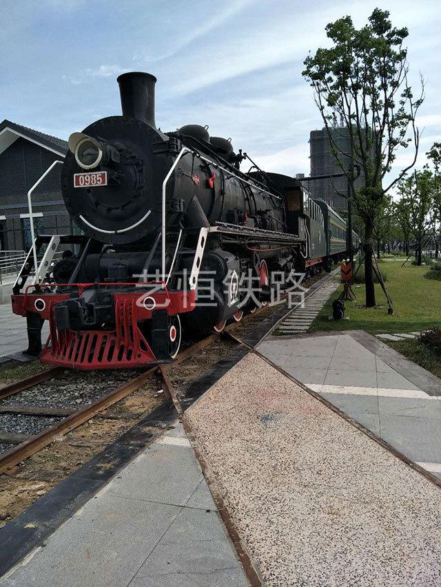 南京西站--下关火车主题园--上游型蒸汽机车