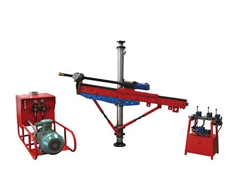 架柱式液压回转钻机特性