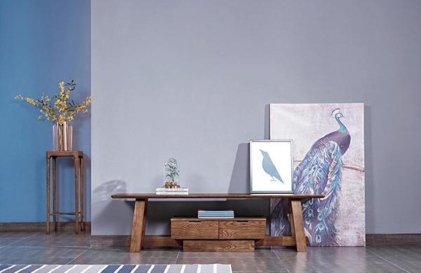 实木油漆电视柜