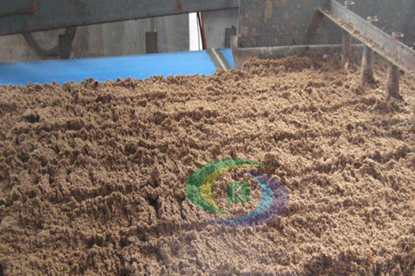 开封实用的木薯渣压榨案例