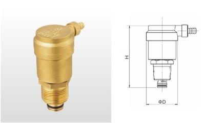 埃美柯排气阀-B725X-16T 黄铜自动排气阀(过滤型)