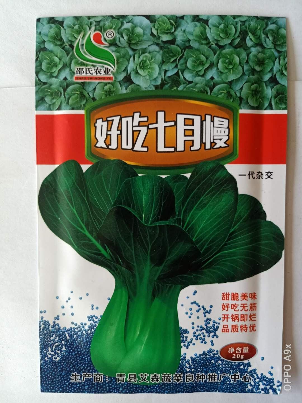 好吃七月慢青菜种子