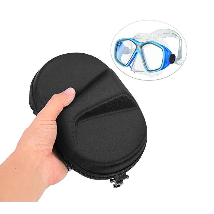 便携式潜水面具盒 EVA 潜水游泳眼镜收纳盒保护盒