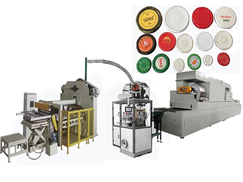 旋蓋/耳蓋全自動生產線(可配天然氣烘干機)(250-300/分)