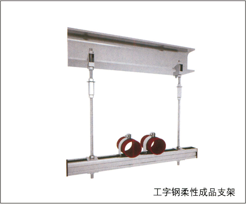 工字钢柔性成品支架