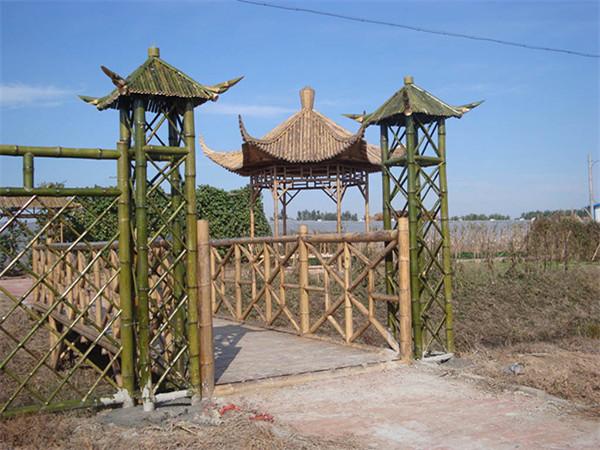 竹籬笆綁法