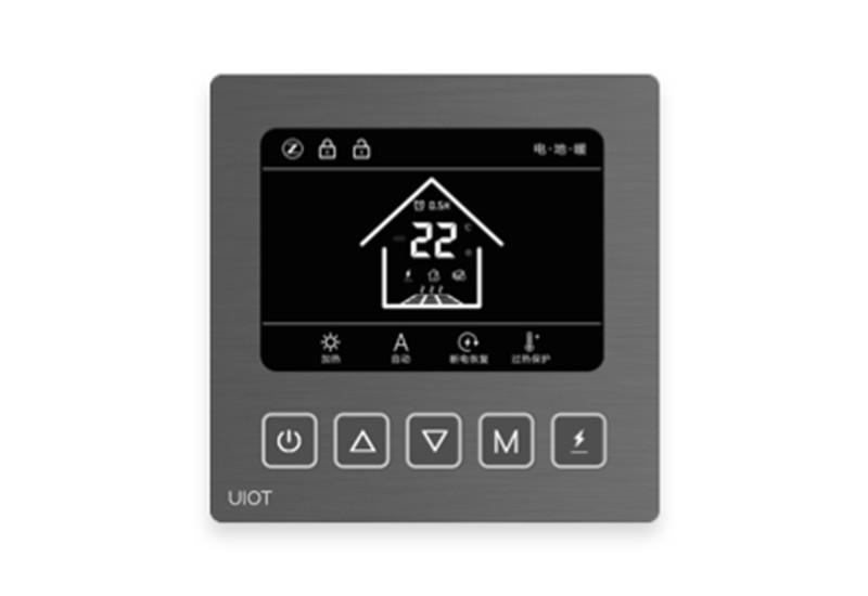 三合一智能温控器金属拉丝系列