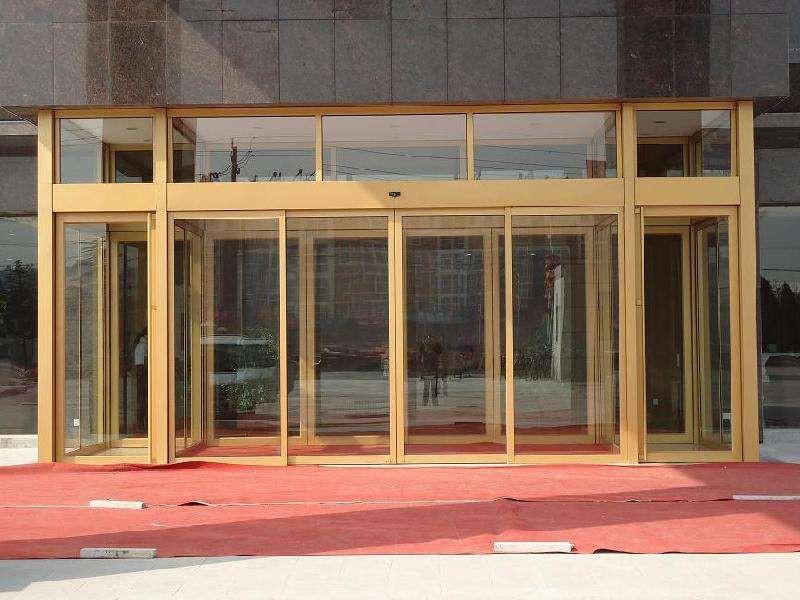 酒店感應門