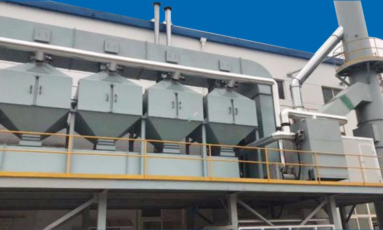 活性炭吸附脱附及催化燃烧RCO装置