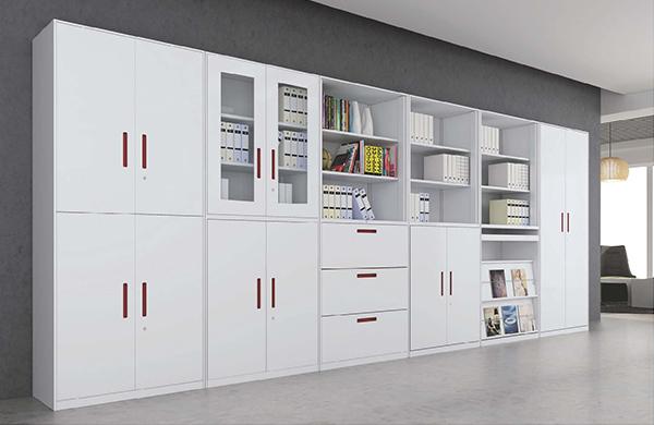 【办公家具】白色系列文件柜
