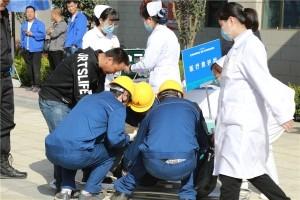 2018年七里河区突发电梯应急事故演练