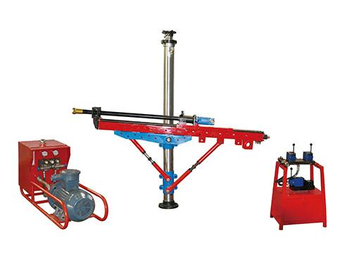 架柱式液压回转钻机安装方法及流程