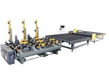 玻璃切割机的定位装置介绍