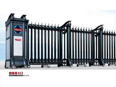 伸缩门的安全使用与日常维护
