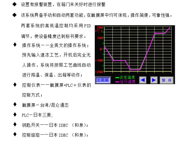 在线液氮速冻机SD-S-1000KG-1H