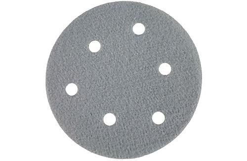5寸6孔绿色背绒圆盘-氧化铝-600#