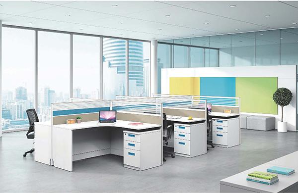 【办公家具】办公屏风工位