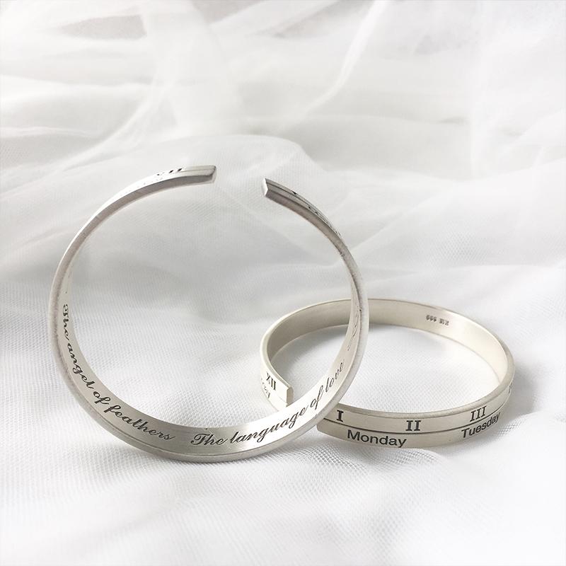 纯银饰品定制出现划痕怎么处理