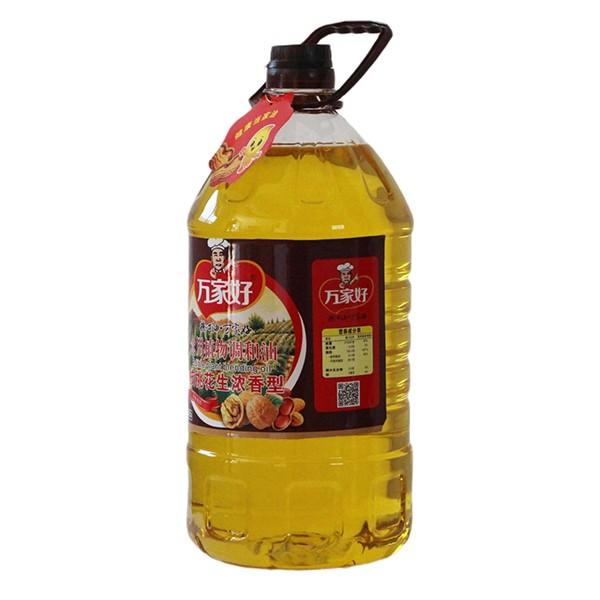 食用植物调和油核桃花生浓香型