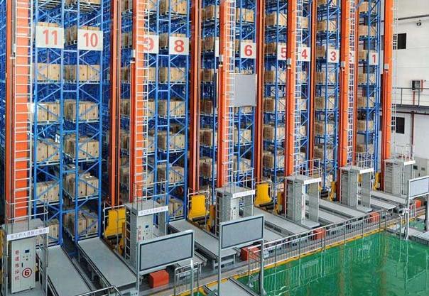 自動化倉庫管理系統運用大數據系統