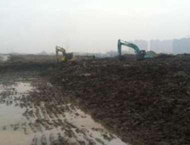 工程施工中如何泥浆处理