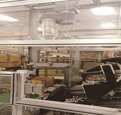 发动机控制器扫码装箱