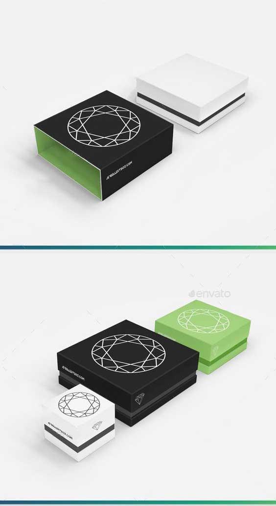 简约电子包装盒设计制作