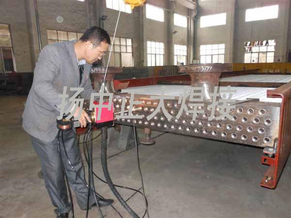 空冷器焊接