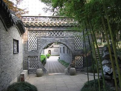 园林对仿古建筑作用