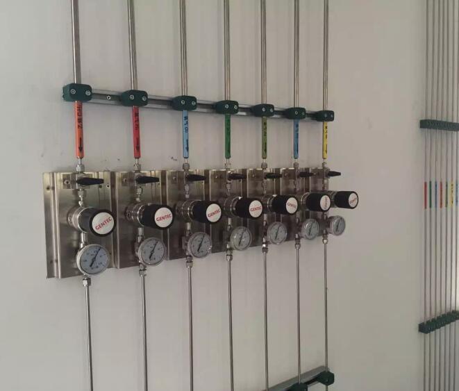 实验室气路安装