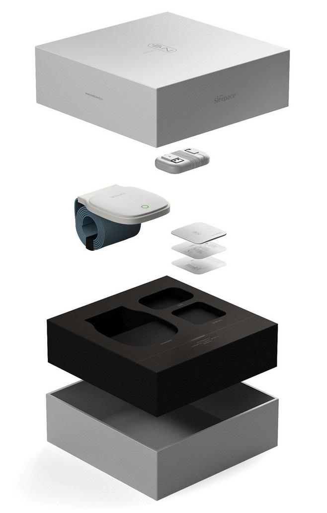 小Z智能睡眠监测器包装盒